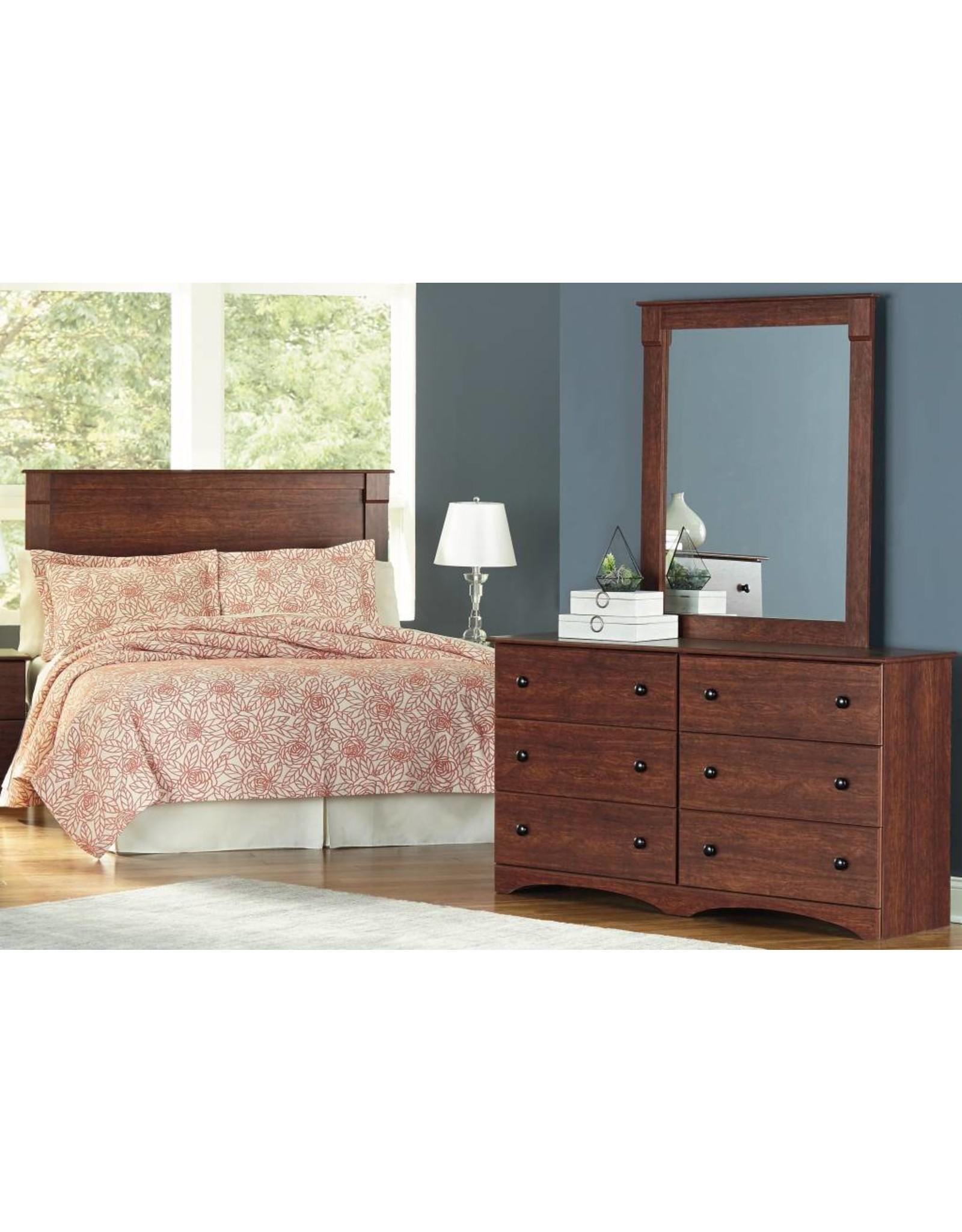 11020 Mirror Cinnamon Fruitwood