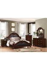 Bordeaux C5164 Queen Bed,Dresser,Mirror