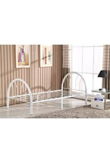 GR-215 White Twin Bed
