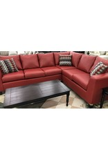 4182 Sectional Red