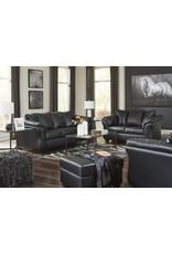 Betrillo 40502 Black Sofa/LS set