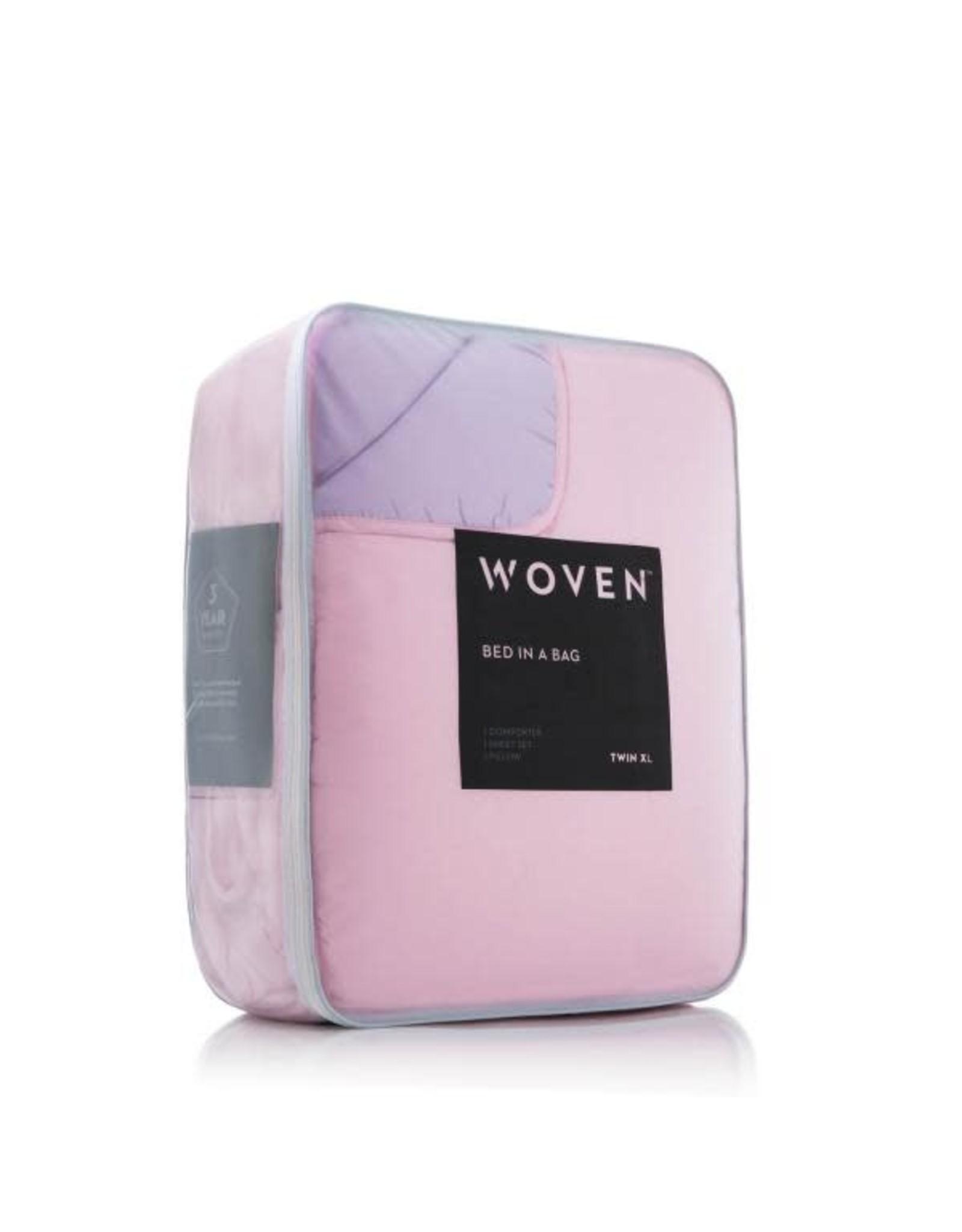 Woven MA01QQLIBHBB Bed N Bag Queen Blush