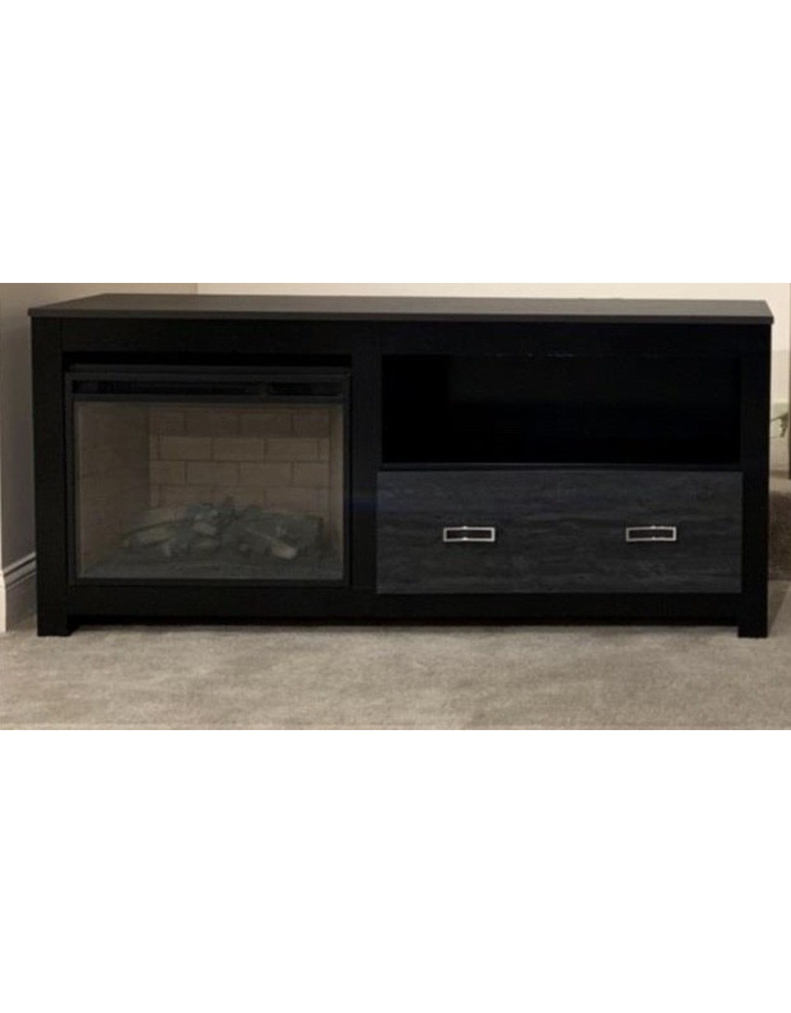 Kaylynn 60-335 Black TV Stand