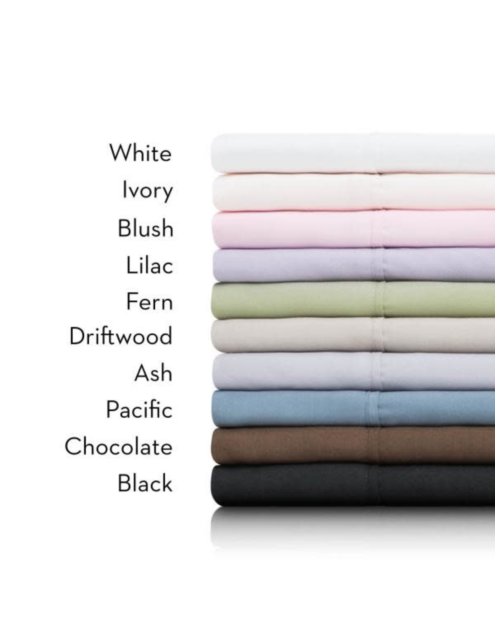 Woven MA90QQIVMS Queen Sheets, Ivory