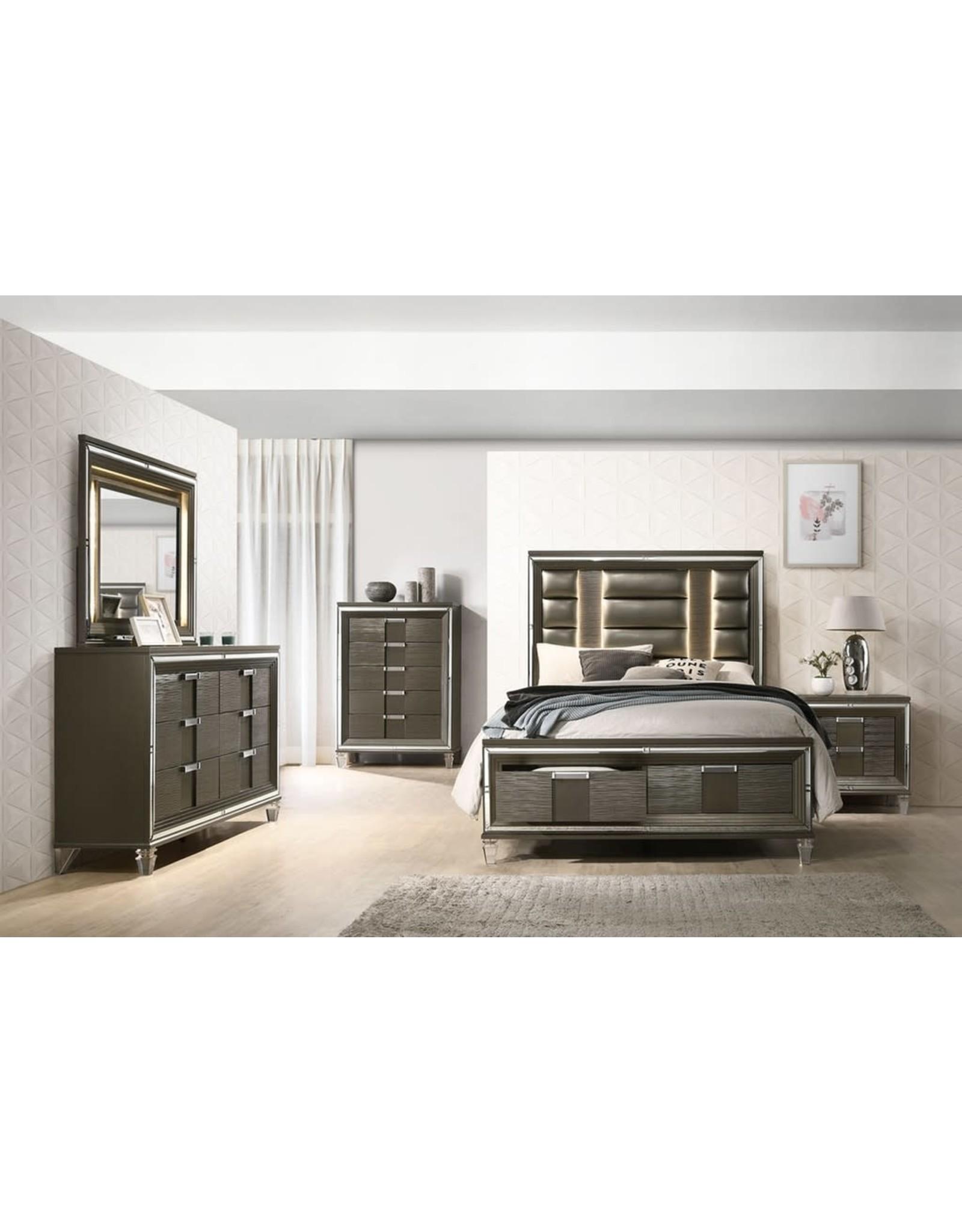 Twenty Nine TN600 Queen Bed/Dresser/Mirror