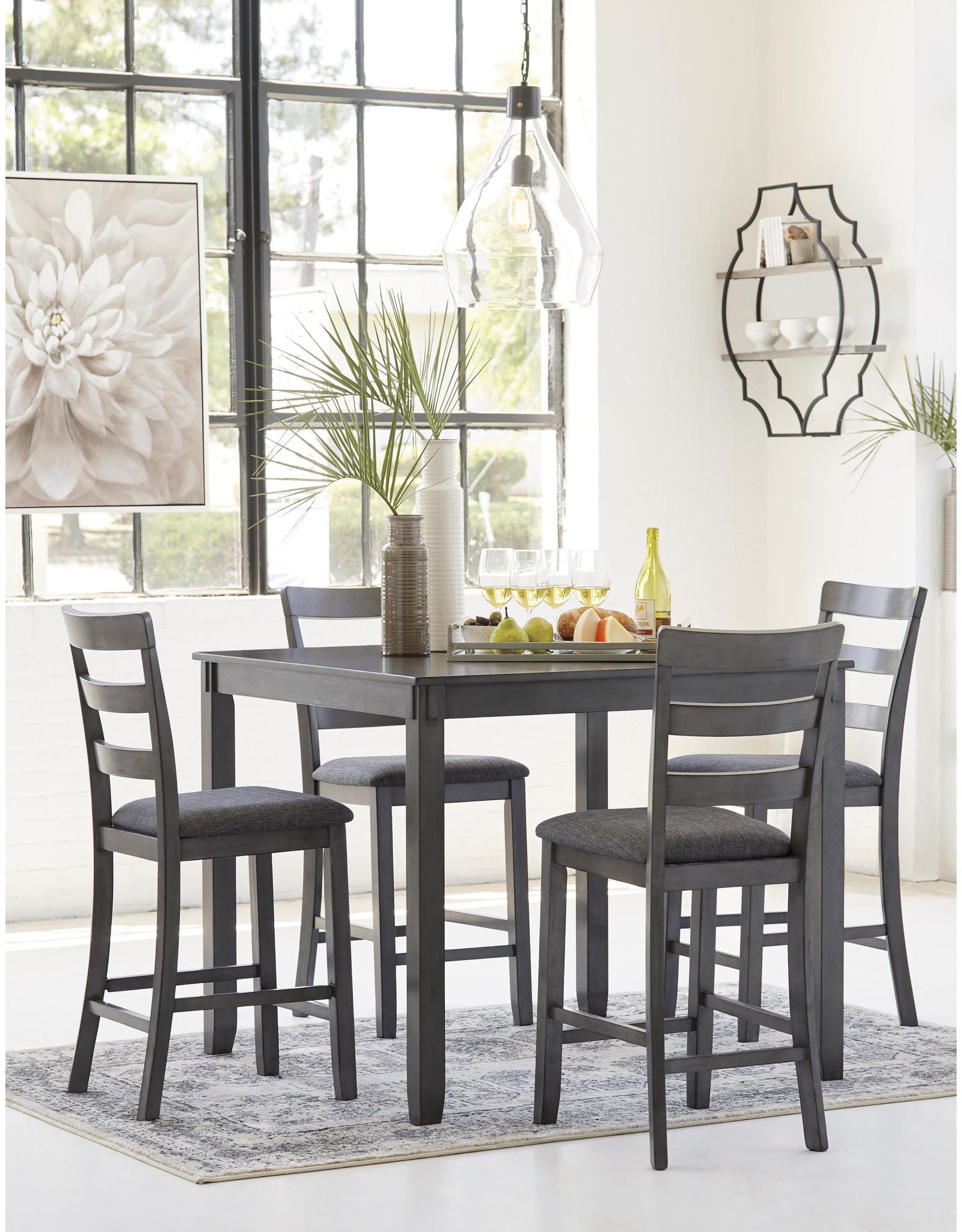 Bridson D383-223 Table & 4 Stools