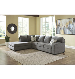 Dalhart 85703 Sectional Charcoal
