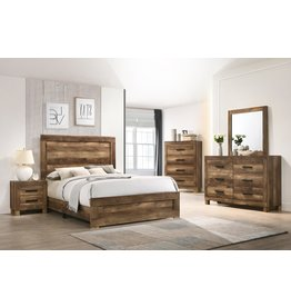 Omaha C8311A 5PC Queen Bed, Dresser, Mirror