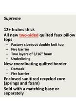 MA- Pillow Top KING Mattress/Box Set Diamond Elite