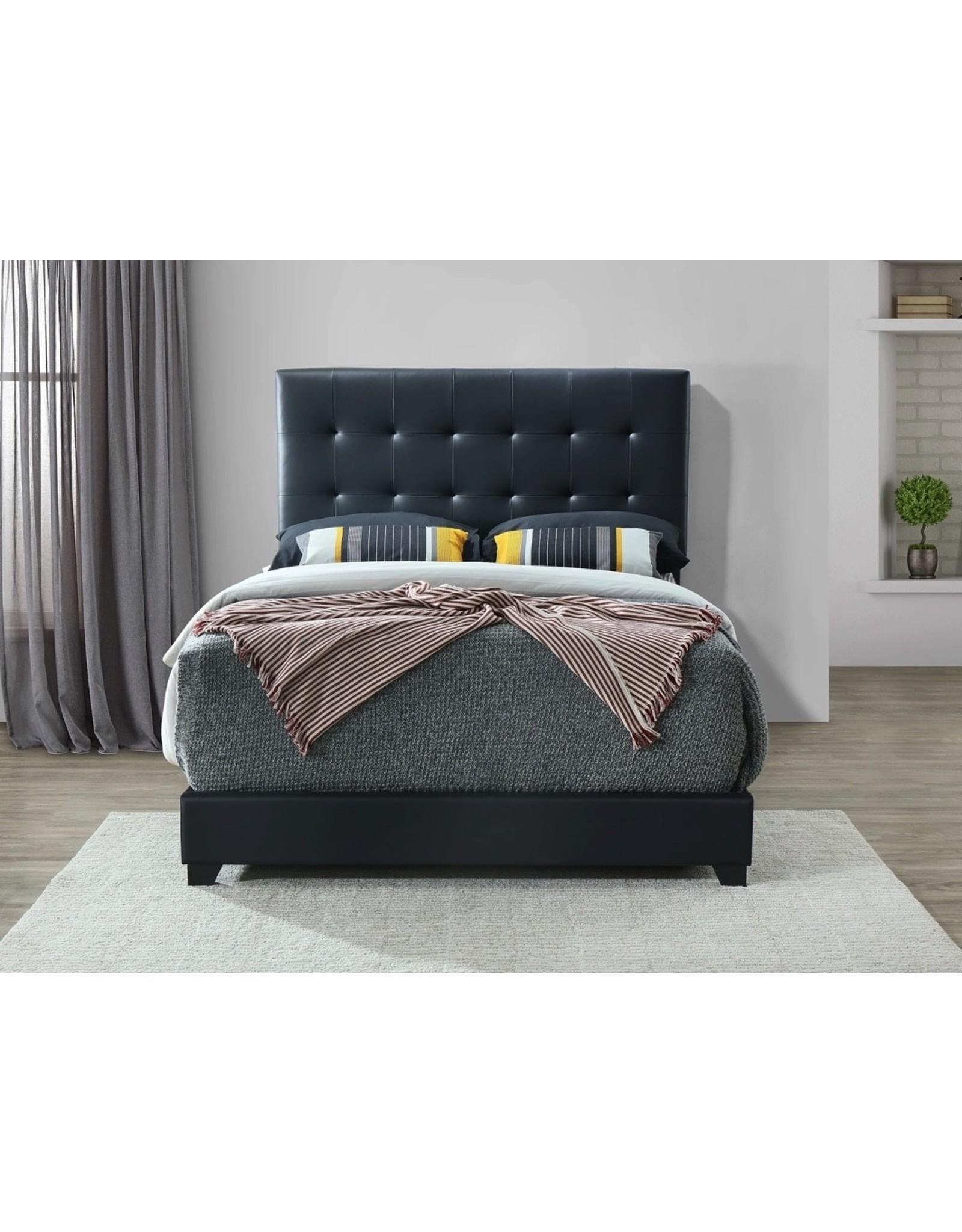 Patrick 5306K11-King Bed Black
