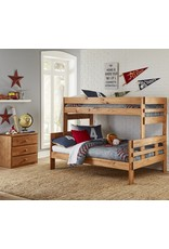 706 Twin/Full Stackable Bunkbed w/Mattresses