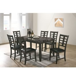 NASH Nash 7pc Dinette Set DNS3007DS