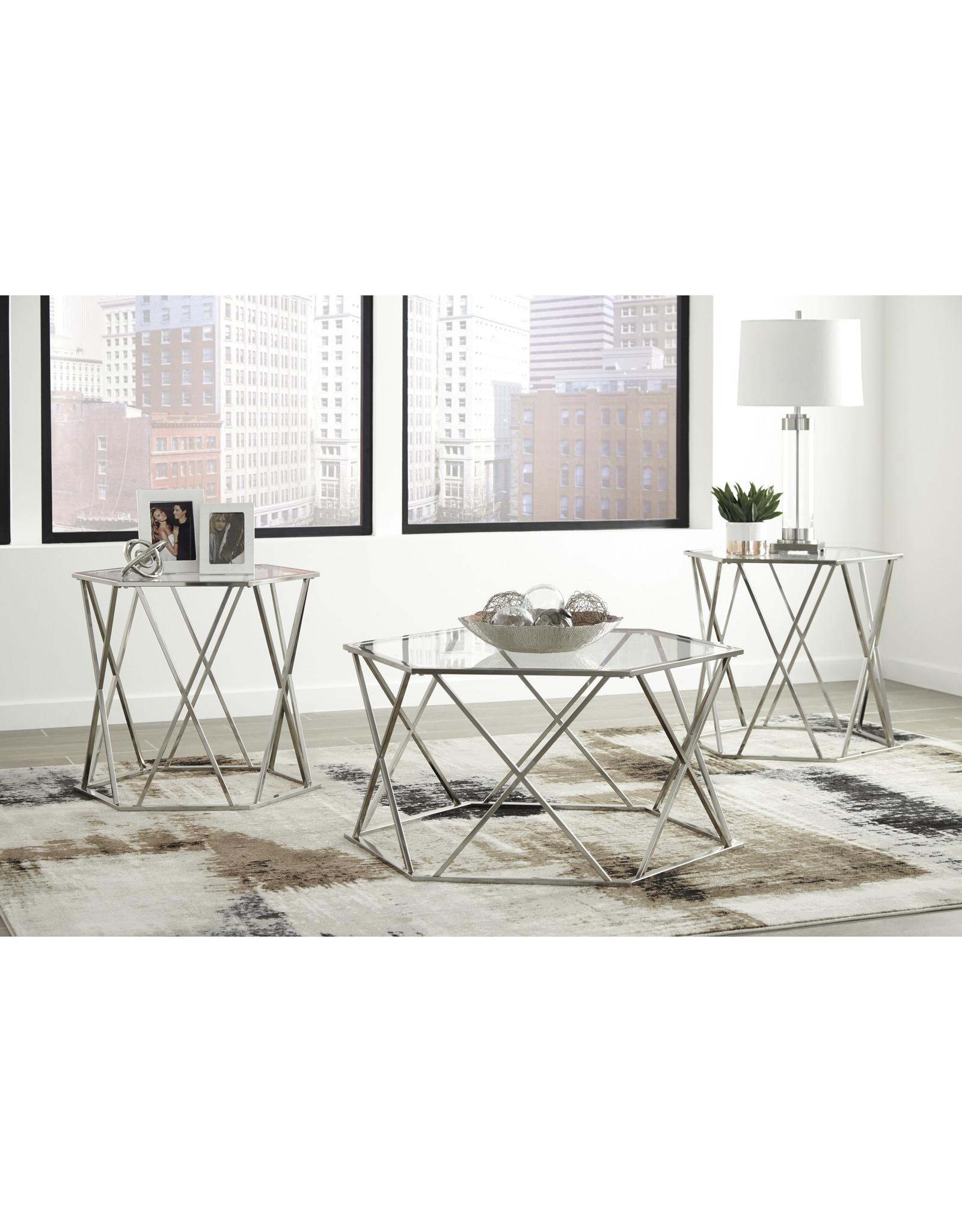 Madanere T015-13 3pc Coffee Table Set