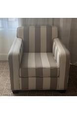 Waldorf Astoria WALDORF-Striped Club Chair