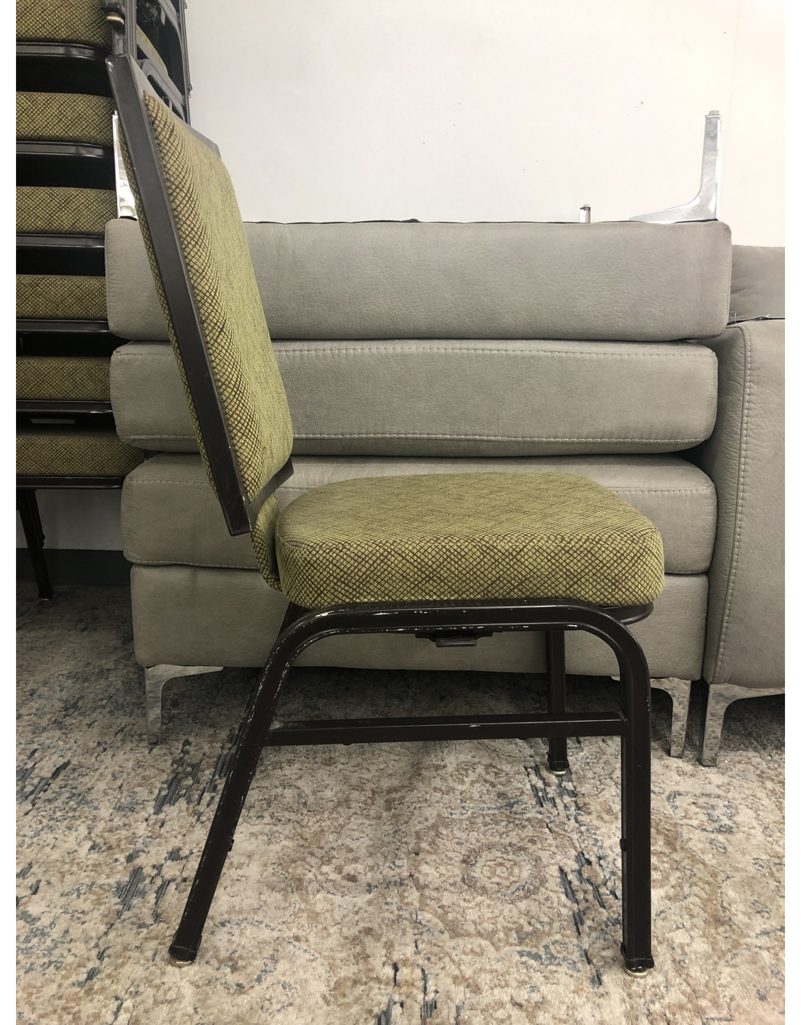 Hilton-Ft. Lauderdale HIL-Green Stack Chair (Commercial Grade)