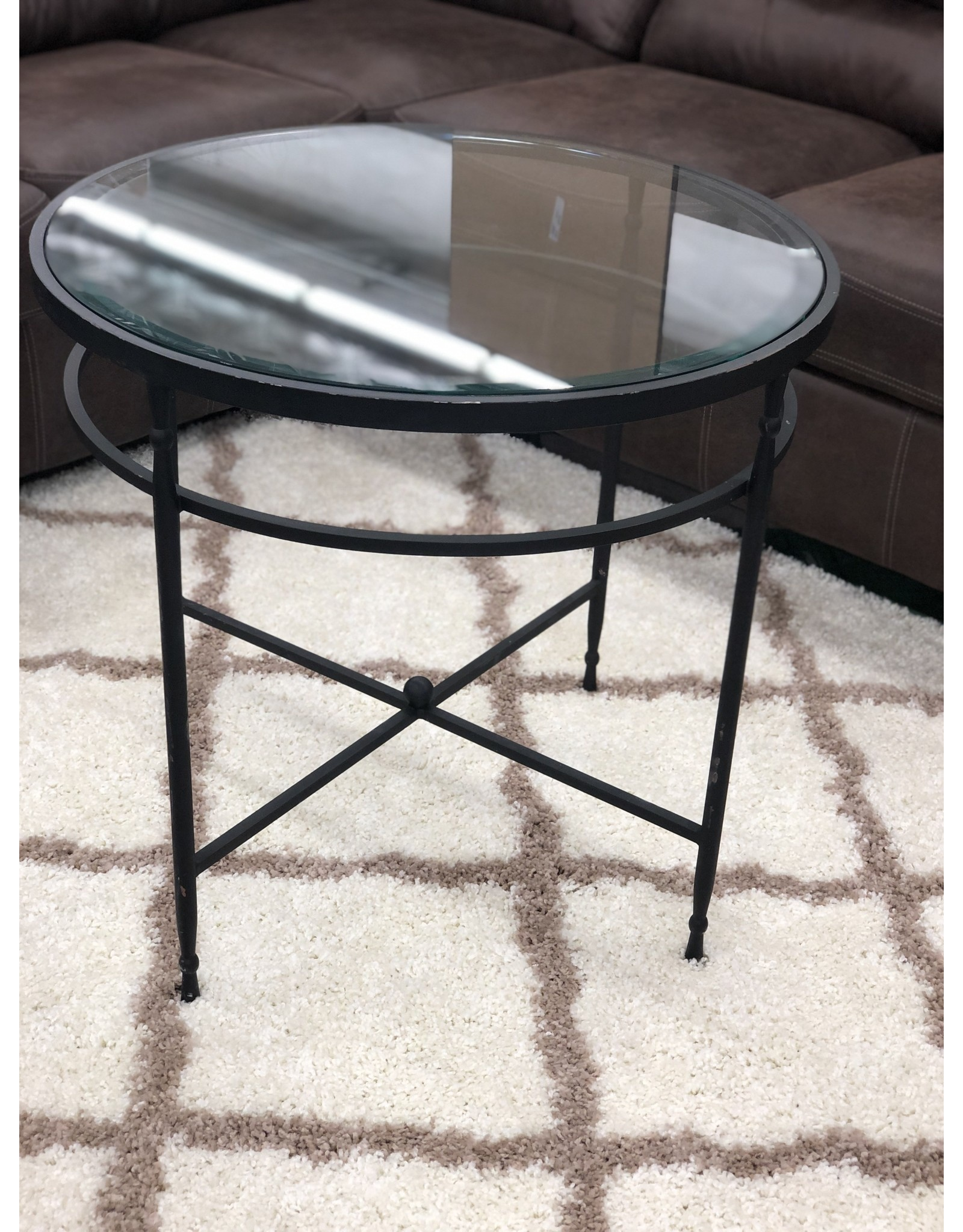 WALDORF- Cast Iron Round Accent Table