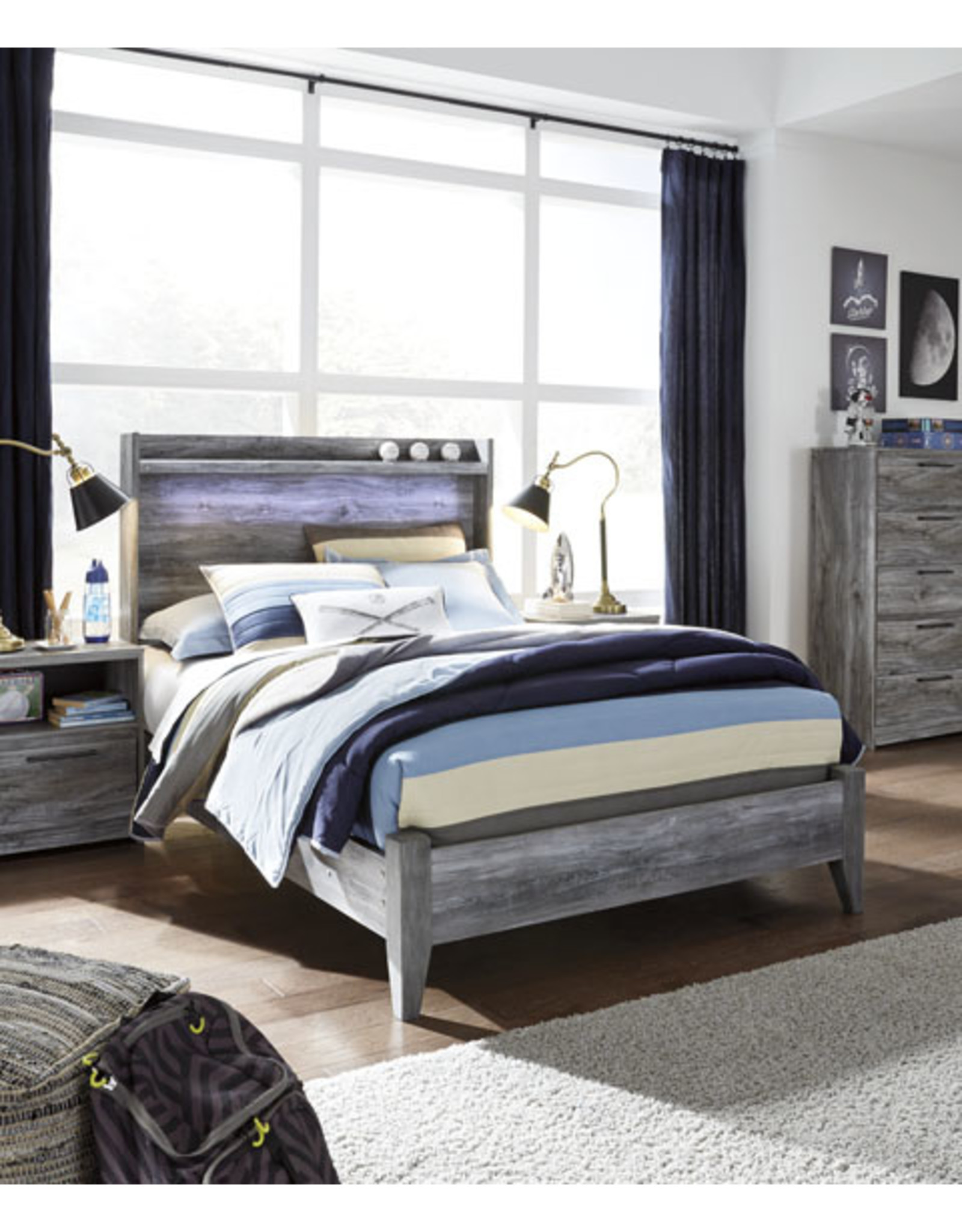 Baystorm B221-57/54 Queen Bed