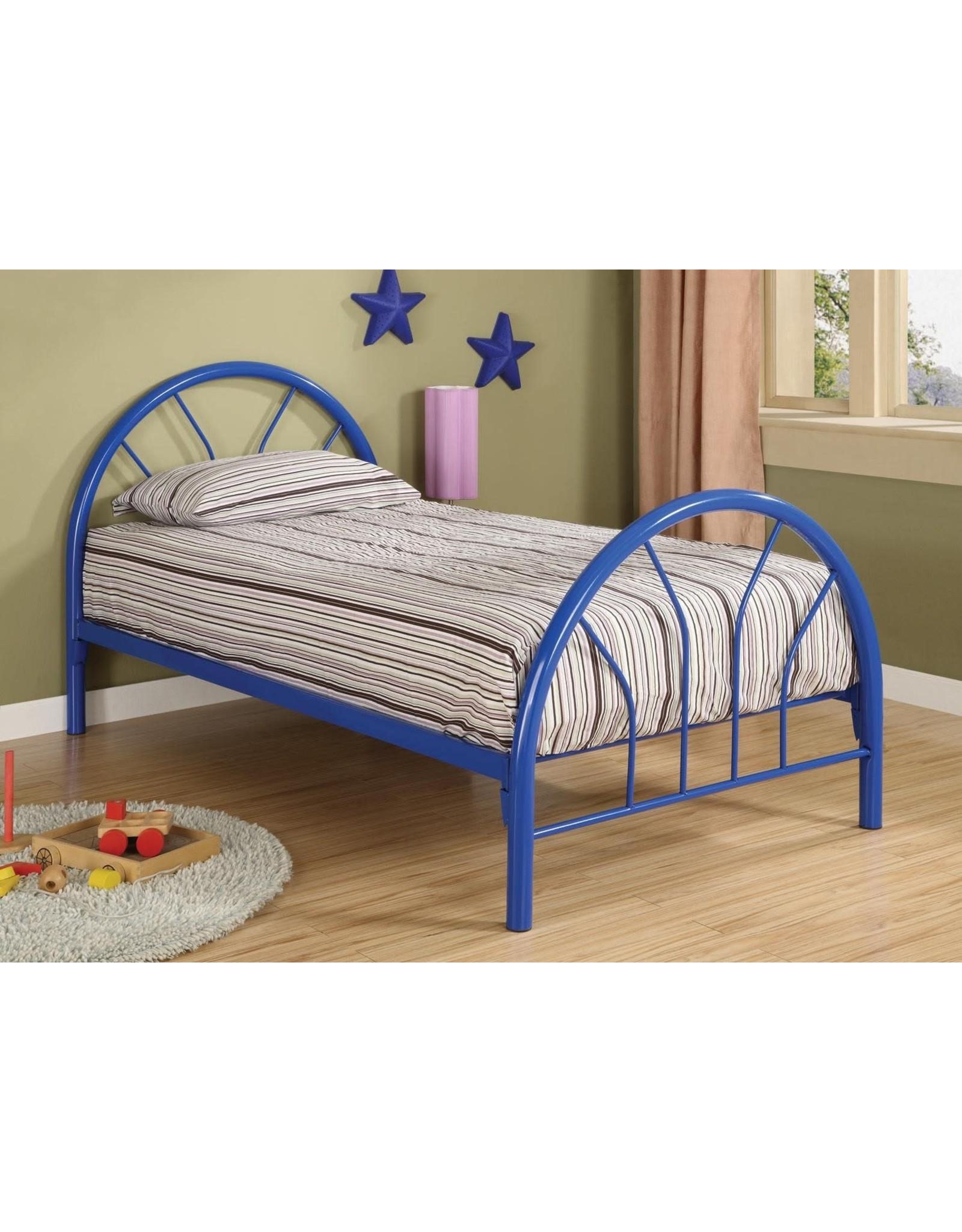 GR-215 Blue Twin Bed