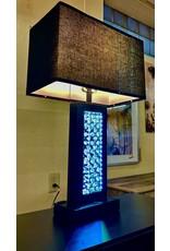 GR-6389S LED Black Lamp