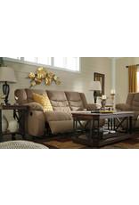 Tulen 9860488 Tan Reclining Sofa