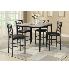Jason Harold 5pc Pub Table & stools