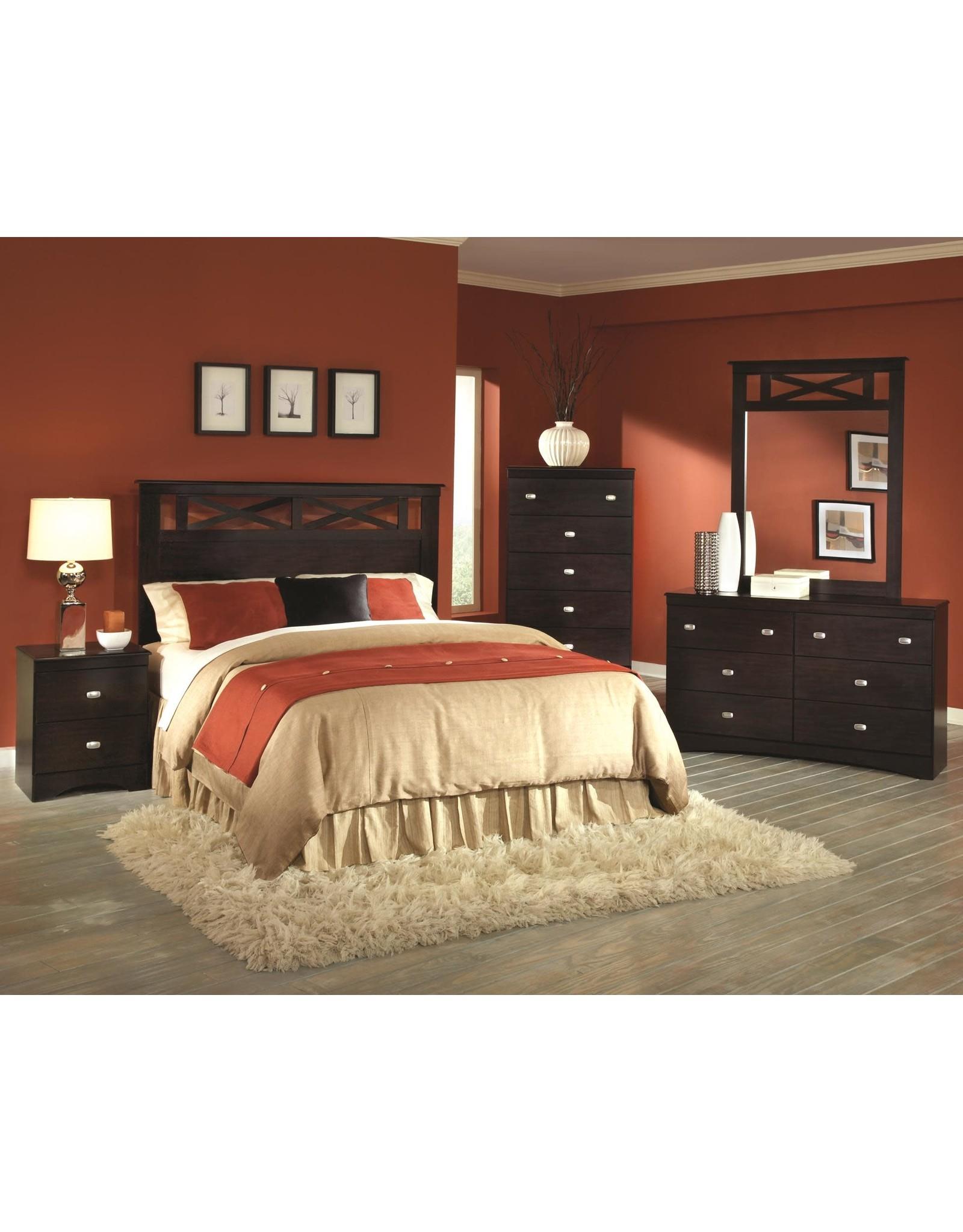 Tyler 230-F/Q HB, Dresser,Mirror,Bedframe