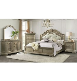 Vincenza VC600 Queen Bed -Dresser - Mirror