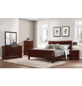 1230LP Queen 5pc Bedroom Set (HB,FB,R,D,M)