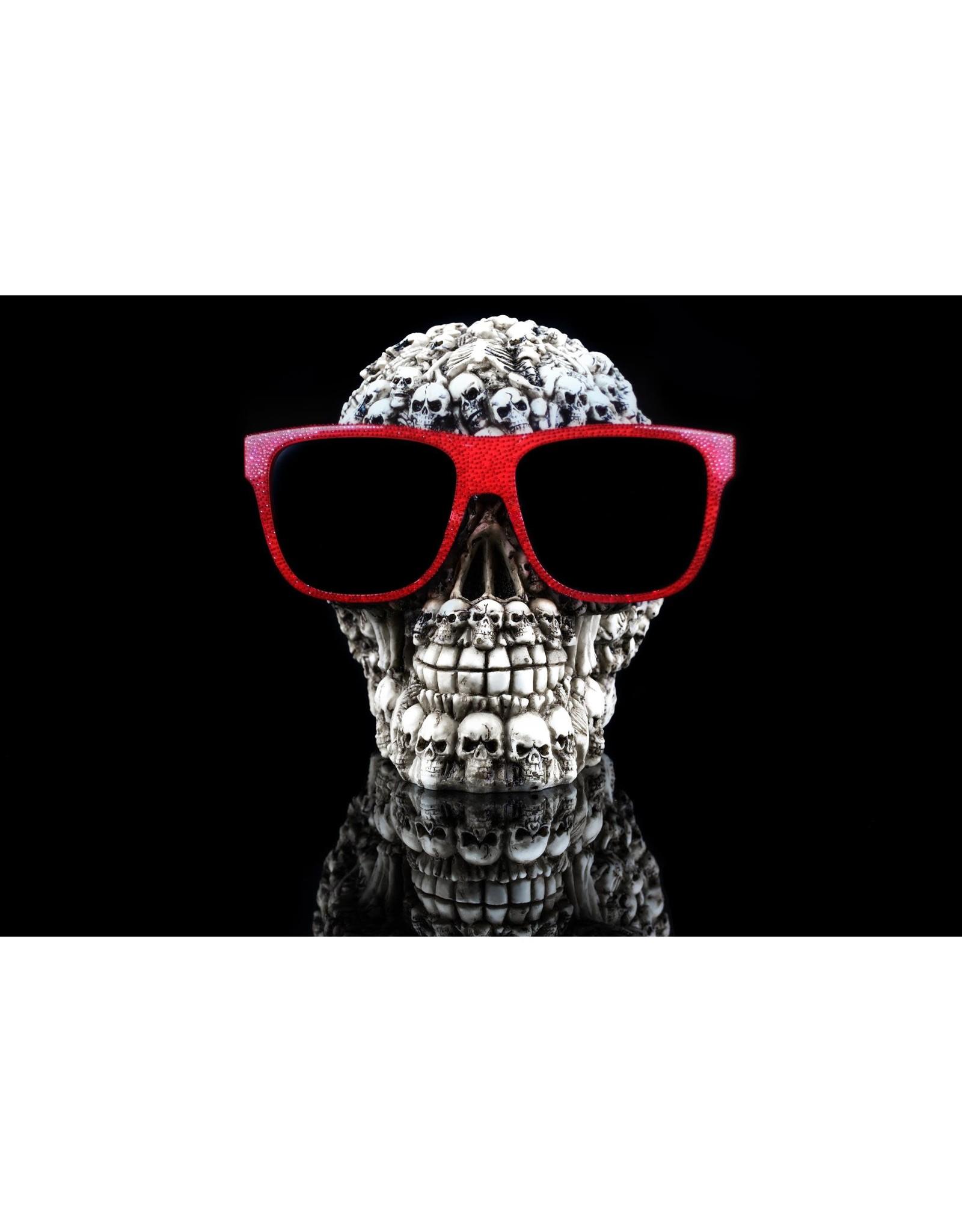 """SF1536R  Skulls on Skulls 60"""" x 40"""""""