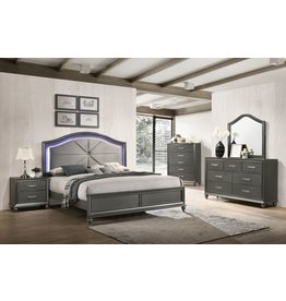 Lafayette C8318A Queen Bed-Dresser-Mirror