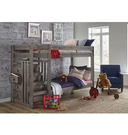 2989 Tall Twin/Twin Staircase Bunkbed
