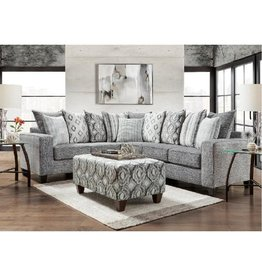 5851 Sectional Charcoal
