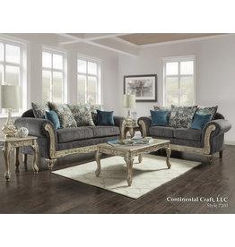 7200 Sofa/Loveseat Carson Gray