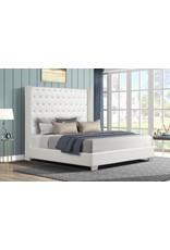AL8027 King Bed White