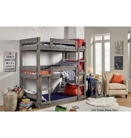210 Triple Stack Bunk Bed
