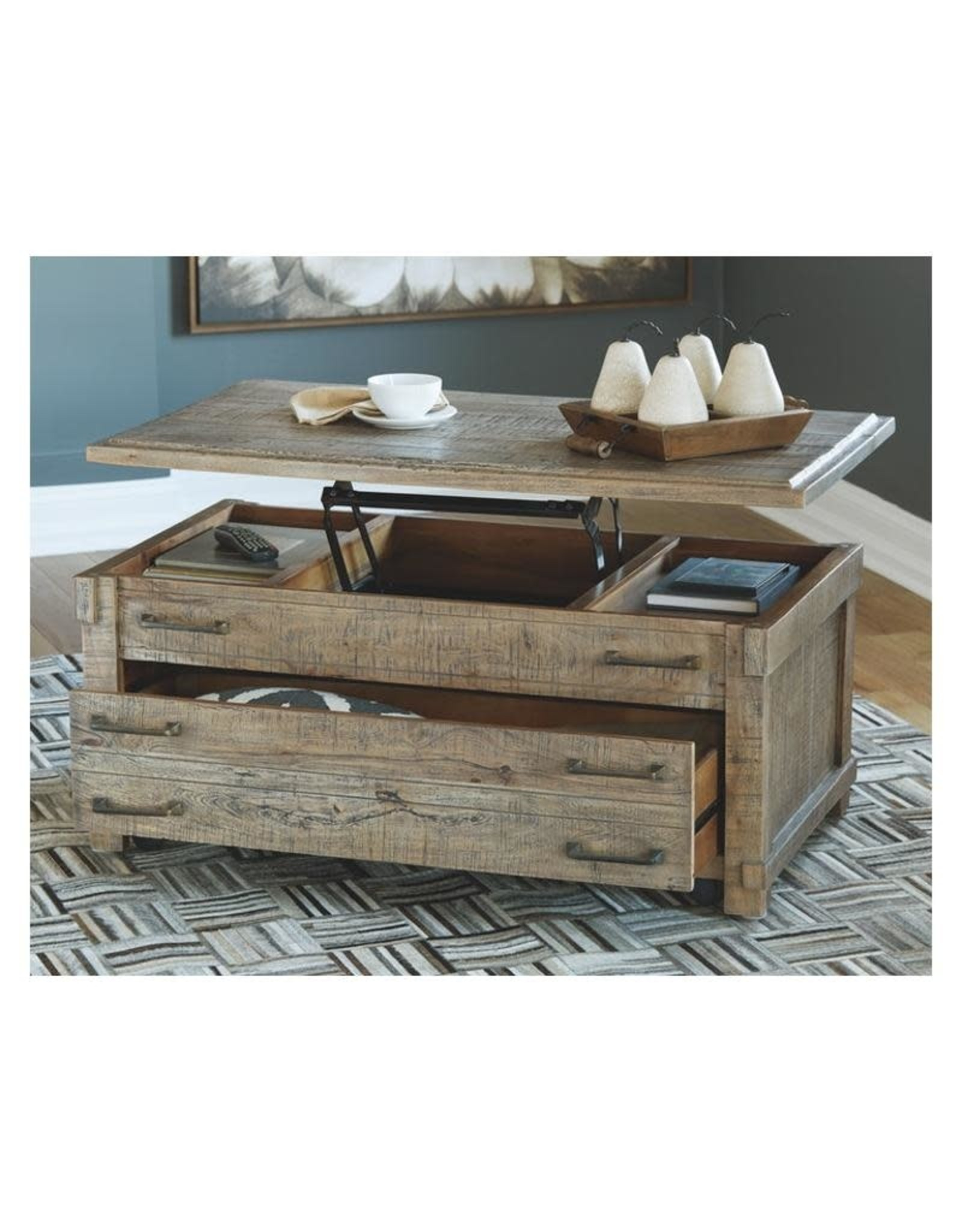 Naffenburg T883-9 Lift Top Cocktail Table