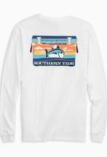 Southern Tide Mountain Weekend Cooler Long Sleeve T-Shirt