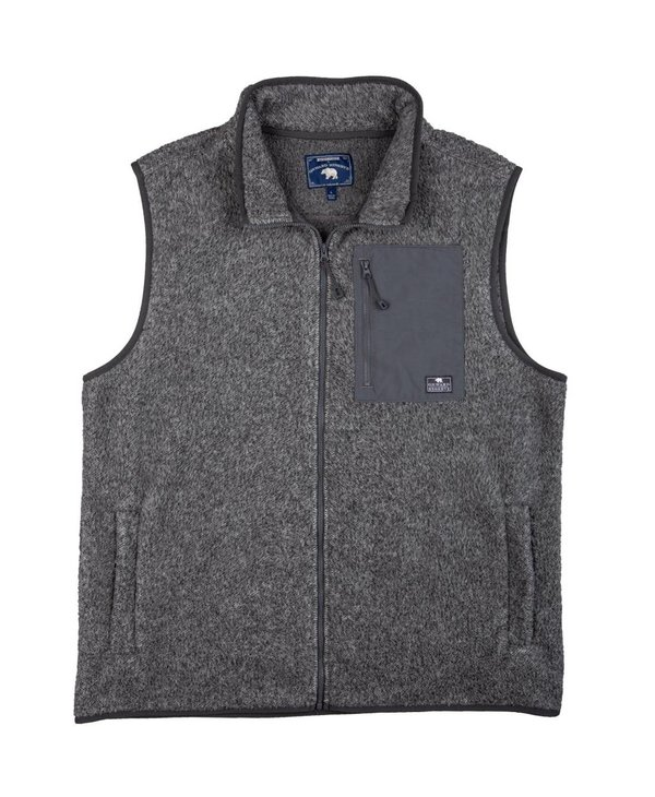 The Heathered Fleece Vest