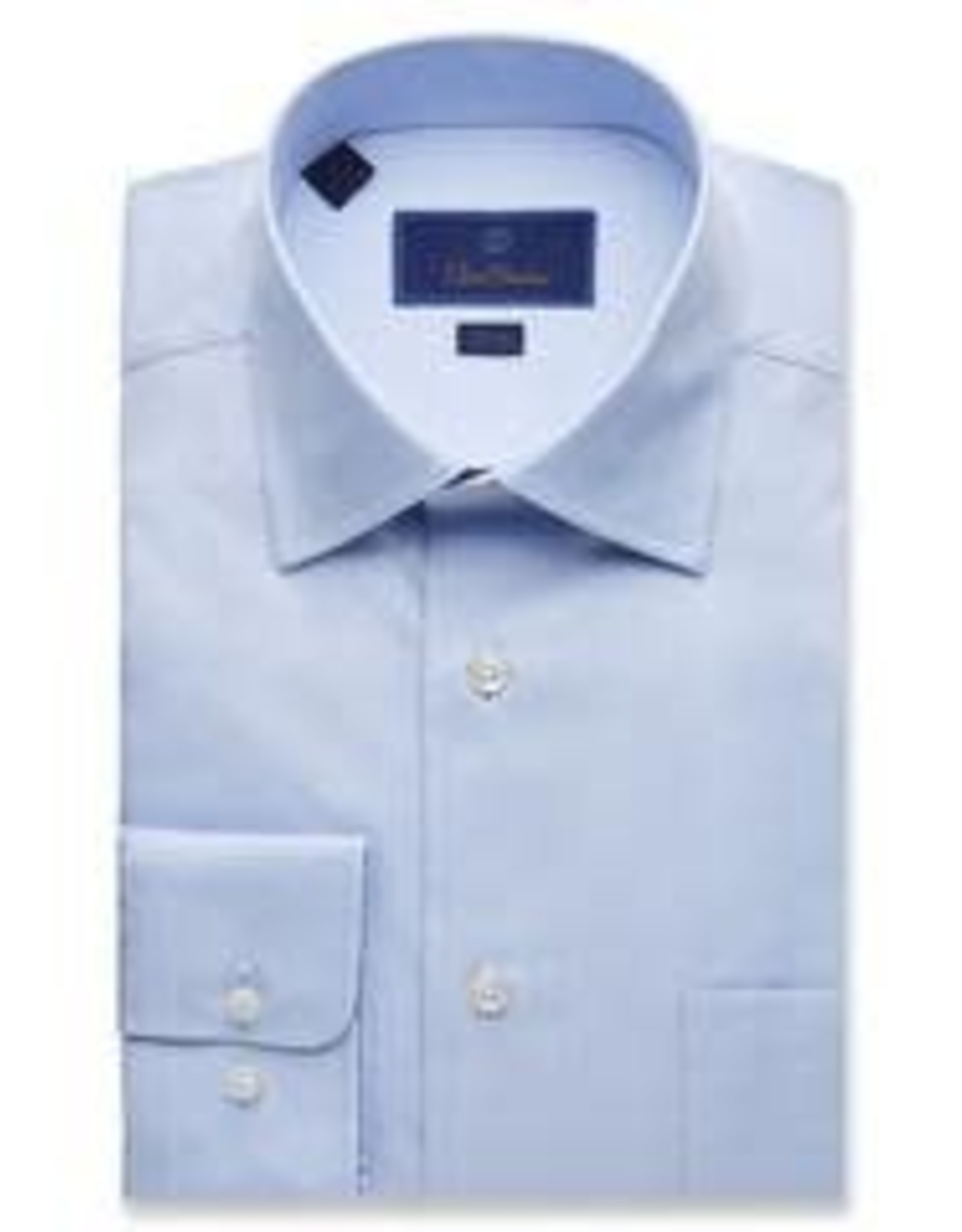 David Donahue Super Fine Twill Dress Shirt
