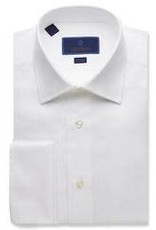 David Donahue Micro Birdseye Dress Shirt
