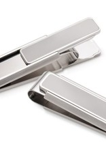 M-Clip Stainless Brushed With Polished Border Money Clip