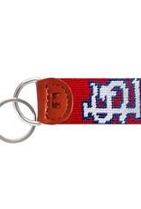 Smathers & Branson St. Louis Cardinals Needlepoint Key Fob