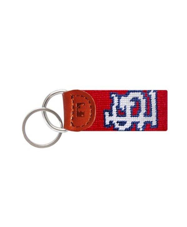 St. Louis Cardinals Needlepoint Key Fob