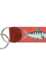 Smathers & Branson Bonefish Needlepoint Key Fob