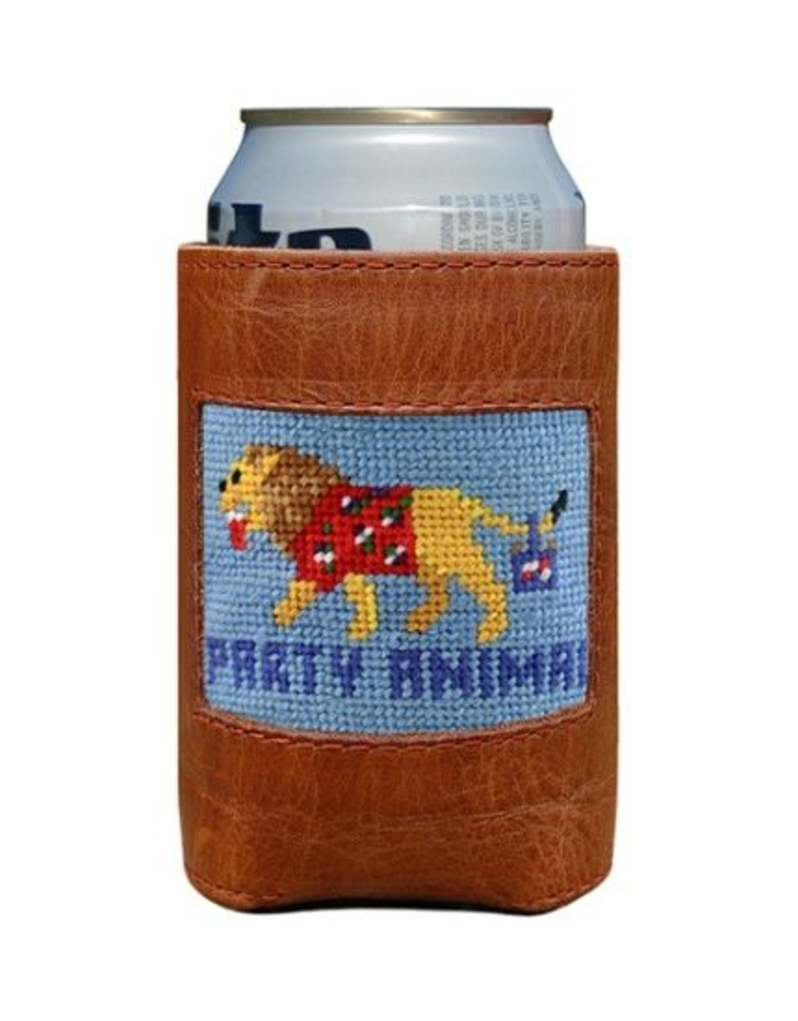 Smathers & Branson Party Animal Needlepoint Can Cooler
