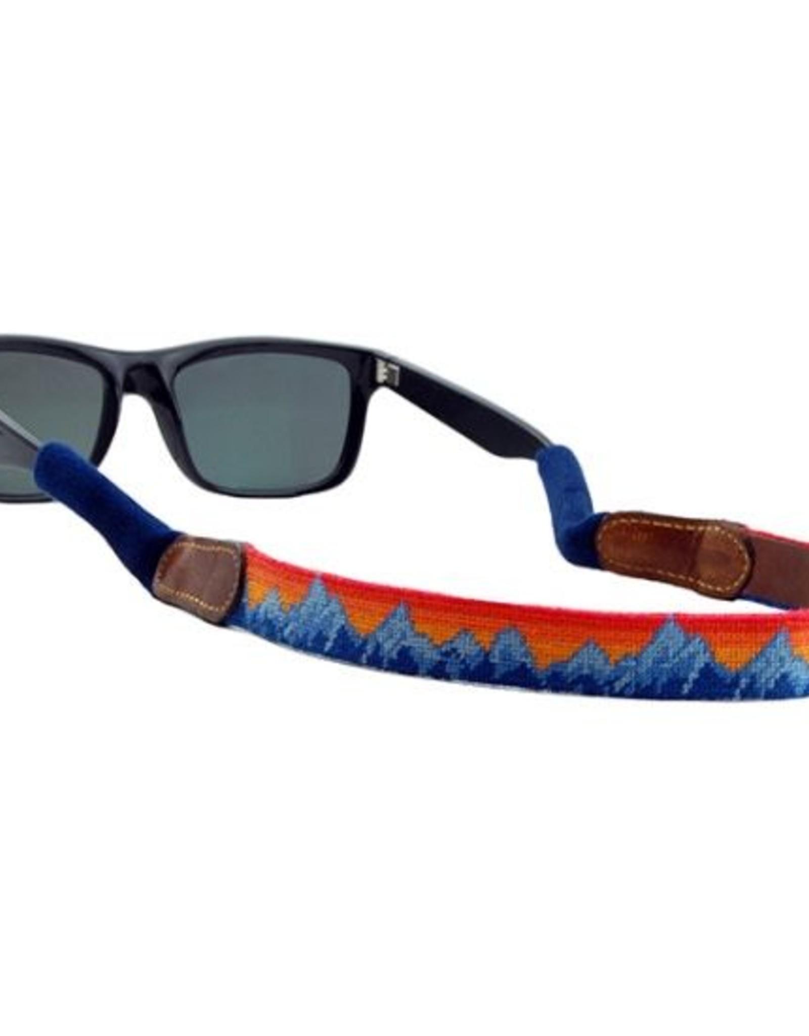 Smathers & Branson Mountain Sunset Needlepoint Sunglass Straps
