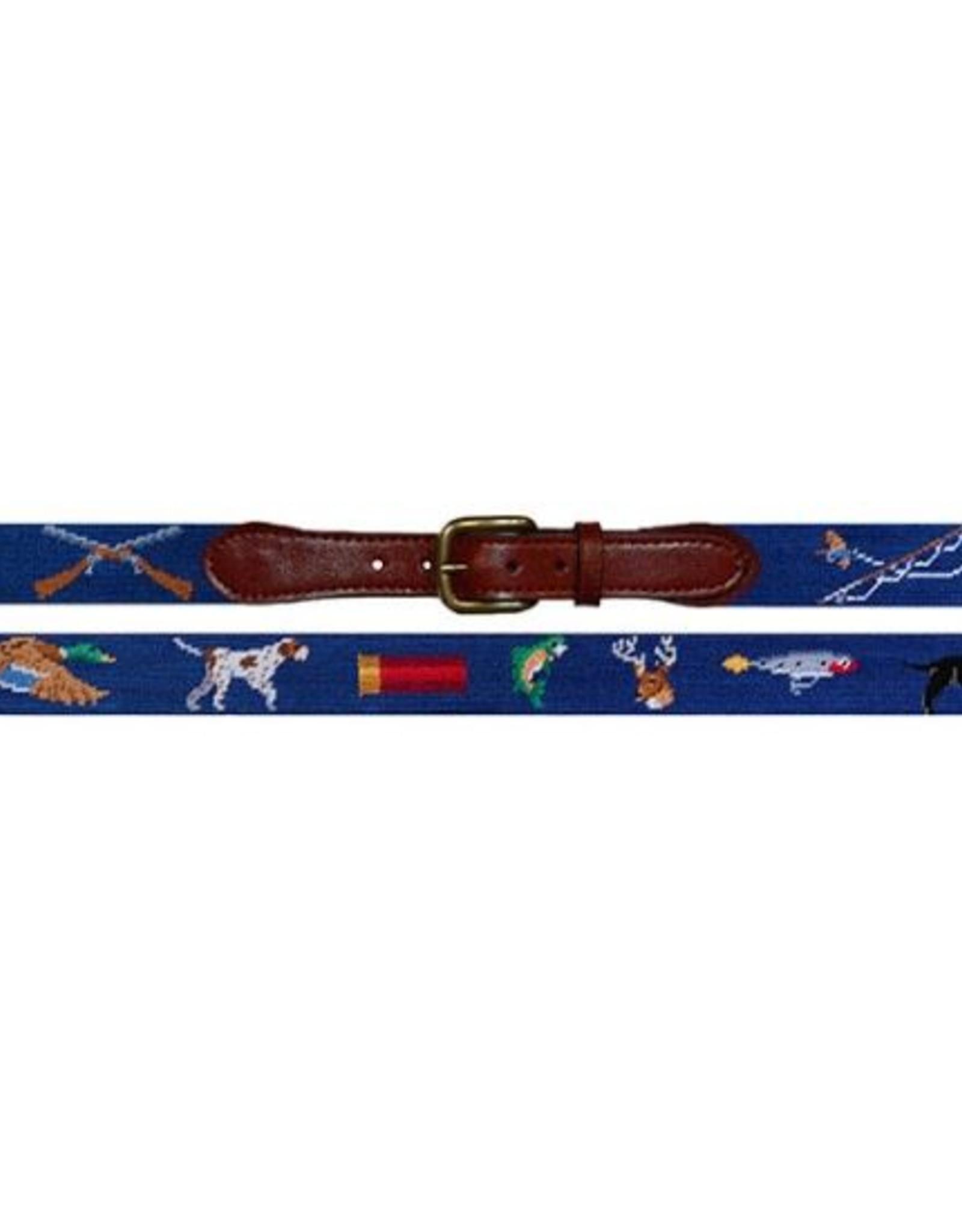 Smathers & Branson Southern Sportsman Needlepoint Belt