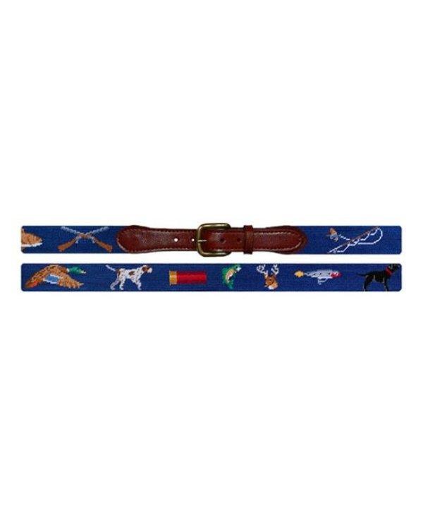 Southern Sportsman Needlepoint Belt