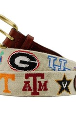 Smathers & Branson SEC Needlepoint Belt
