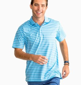 Southern Tide Gator Stripe Performance Polo Shirt